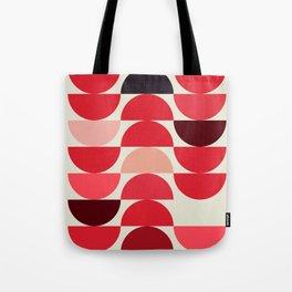 Red Bowls Tote Bag