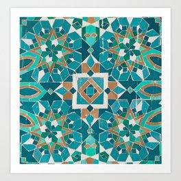 Zellige - Morocco - Casablanca II Art Print