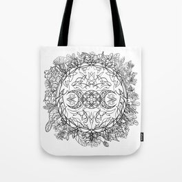 Moon nature Tote Bag