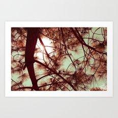 Árbol Art Print