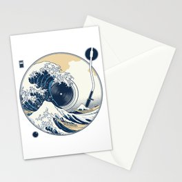 The Great Wave off Sound Stationery Cards
