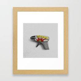 Atomic Zapper Framed Art Print