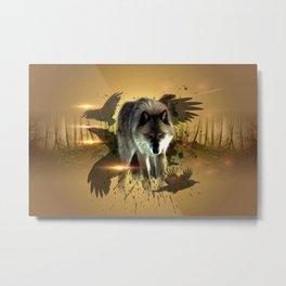 Forest Stalker Metal Print