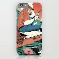 Fishing with Cat iPhone 6 Slim Case
