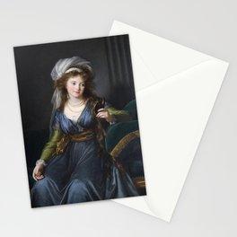 Elisabeth Louise Vigee Le Brun - Portrait of countess Yekaterina Skavronskaya Stationery Cards