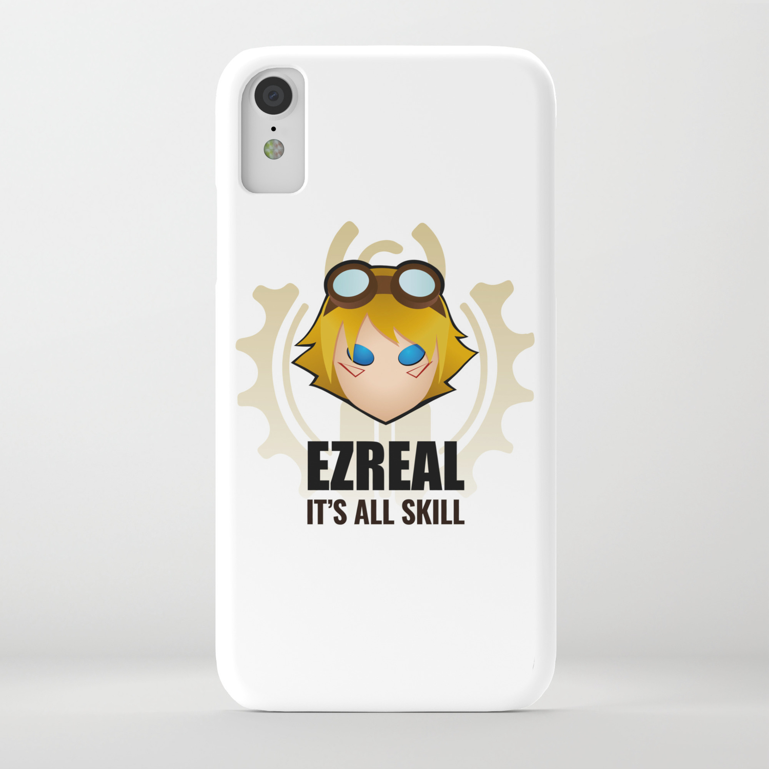 Ezreal w/ quote iPhone Case