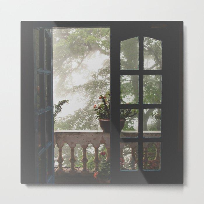 Window Views II Metal Print