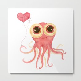 octopus_a Metal Print
