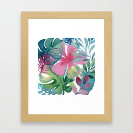 Tropic Like Its Hot Framed Art Print