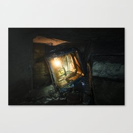 À accentuer la dérive // To accentuate the drift Canvas Print