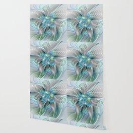 Abstract Butterfly, Fantasy Fractal Art Wallpaper
