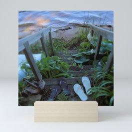 Stairway to Summer Mini Art Print