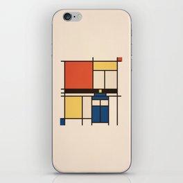 Mondrian Who iPhone Skin