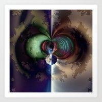 Gaia 1 Art Print