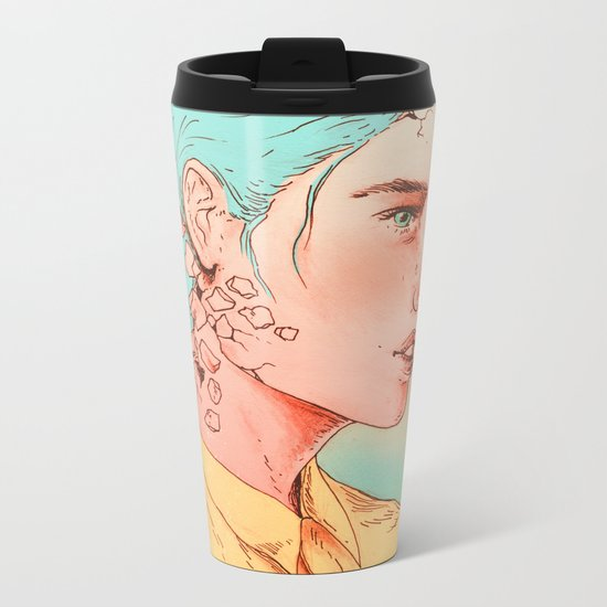If I Could Only Live Once More Metal Travel Mug