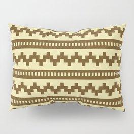 Pixel Sand Side Scroller Pillow Sham