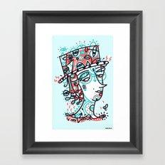 Landlord of the heart Framed Art Print