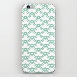 matsukata in grayed jade iPhone Skin