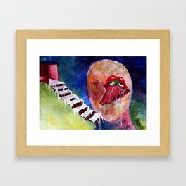 Senses Framed Art Print