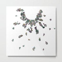 Point-ilism Metal Print