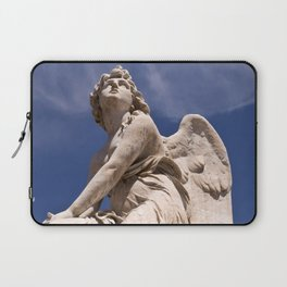 WHITE ANGEL of SICLY Laptop Sleeve