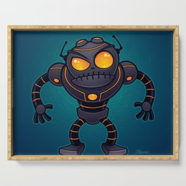 Angry Robot Serving Tray