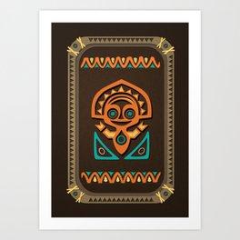 Disney's Polynesian Village - Tiki Art Print