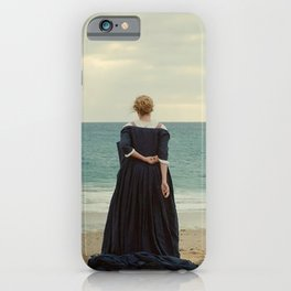 portrait de la jeune fille en feu portrait of a lady on fire iPhone Case