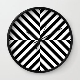 Chevronish Wall Clock