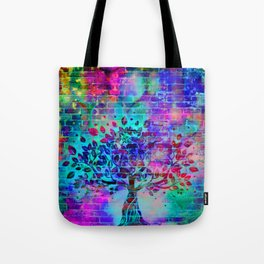 wall graffiti Tote Bag