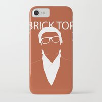 snatch iPhone & iPod Cases featuring Brick Top by TdL MD