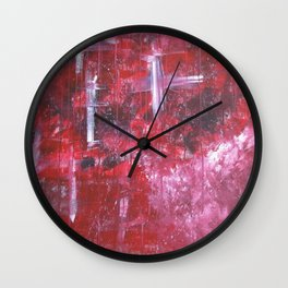 Lost in the Music Wall Clock