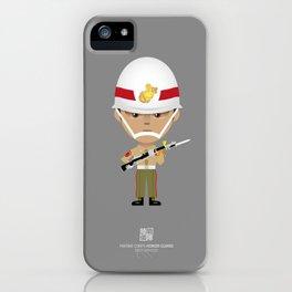 Honor Guard - BZQ Drill iPhone Case