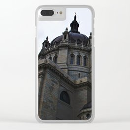 Cathedral - St. Paul, MN Clear iPhone Case