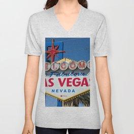 Welcome to Las Vegas Unisex V-Neck