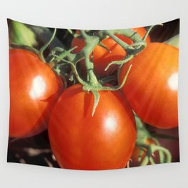 Red Tomatoes Wall Tapestry