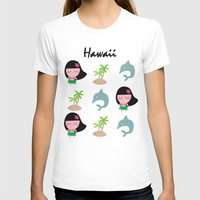 hawaii T-shirts featuring hawaii by Sucoco