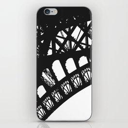 Eiffel Detail iPhone Skin