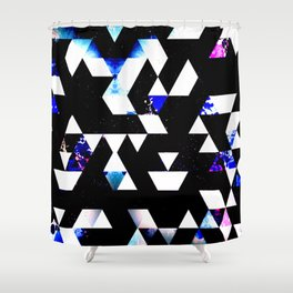 GALATIC RUNWAYS Shower Curtain