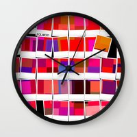 polaroid Wall Clocks featuring Polaroid by LoRo  Art & Pictures