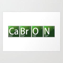 Chemical Cabron Art Print