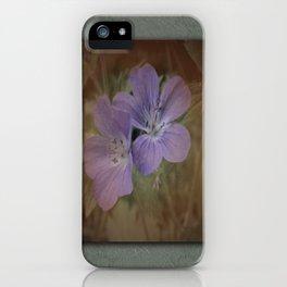 Antique Floral iPhone Case