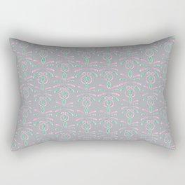 Cereal for Dinner - Geometric Rectangular Pillow