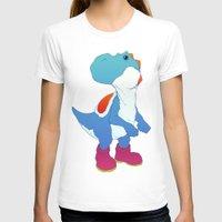 yoshi T-shirts featuring Yoshi Blue by bloozen