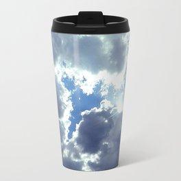 Clouds & Sun Travel Mug