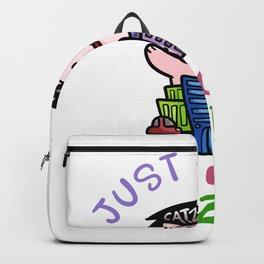 Just A Girl Who Loves Catzilla Backpack