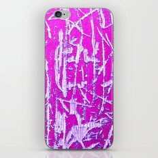 Neon Scratches  iPhone & iPod Skin