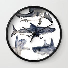 School or Shiver Wall Clock