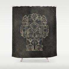Hulkbuster Shower Curtain