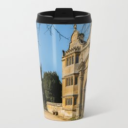 Cotswold Gatehouse & Church. Travel Mug